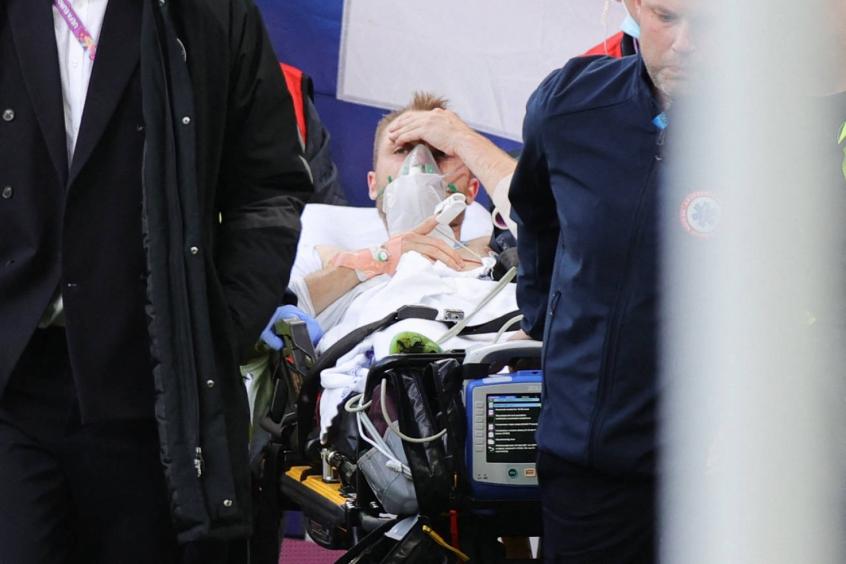 Jogadores, seleções e clubes criam rede de apoio a Eriksen após cena chocante na Eurocopa