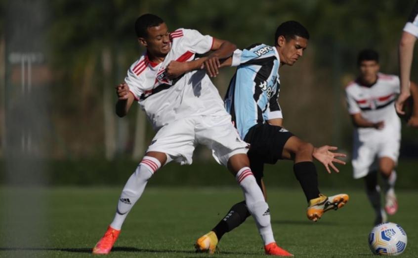 São Paulo e Grêmio ficam no empate pelo Brasileiro sub-17