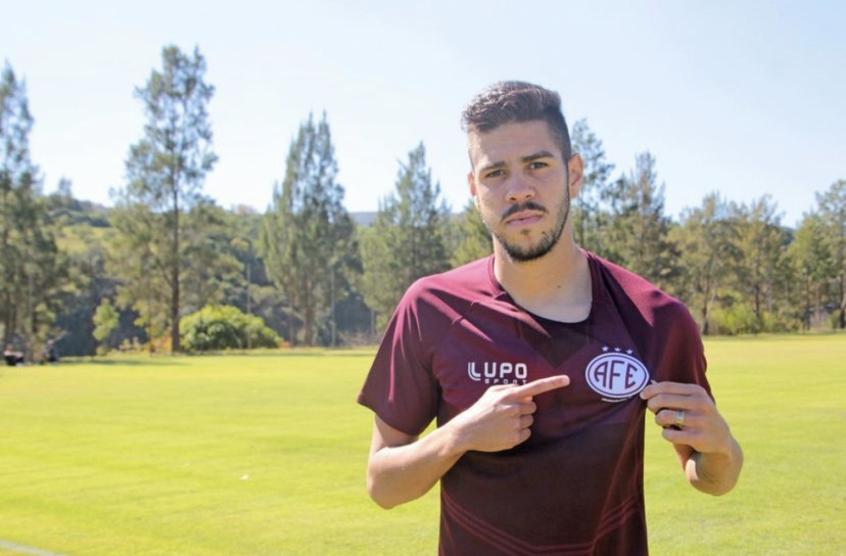 Victor Paraíba quer boa temporada na Ferroviária e brigando pelo acesso à Série B