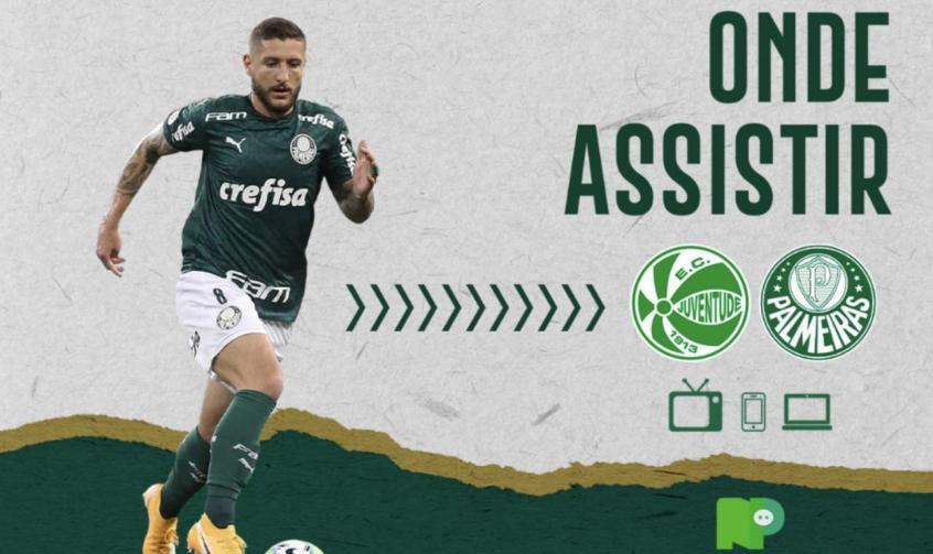 Juventude x Palmeiras: saiba como assistir ao duelo pelo Brasileirão