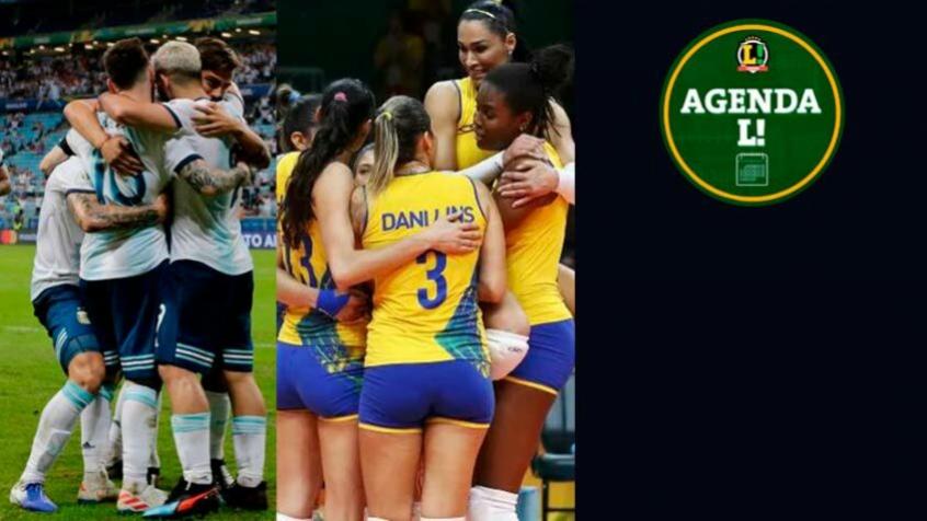 Copa América, Liga das Nações de Vôlei… Saiba onde assistir aos eventos esportivos de sexta-feira
