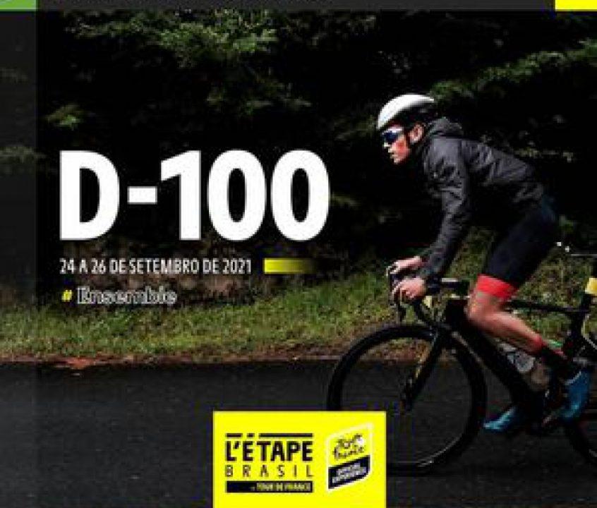 A 100 dias, L'Étape Brasil by Tour de France busca garantir prova segura