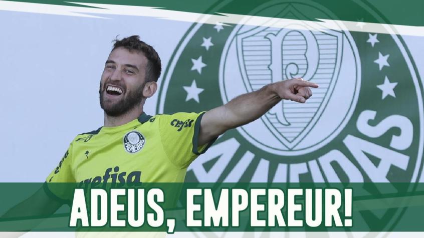 Boletim: Empereur se despede do Palmeiras e Gabriel Menino é convocado para as Olimpíadas