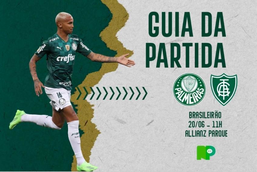 Palmeiras x América-MG: onde assistir ao duelo pelo Brasileirão, arbitragem e escalações