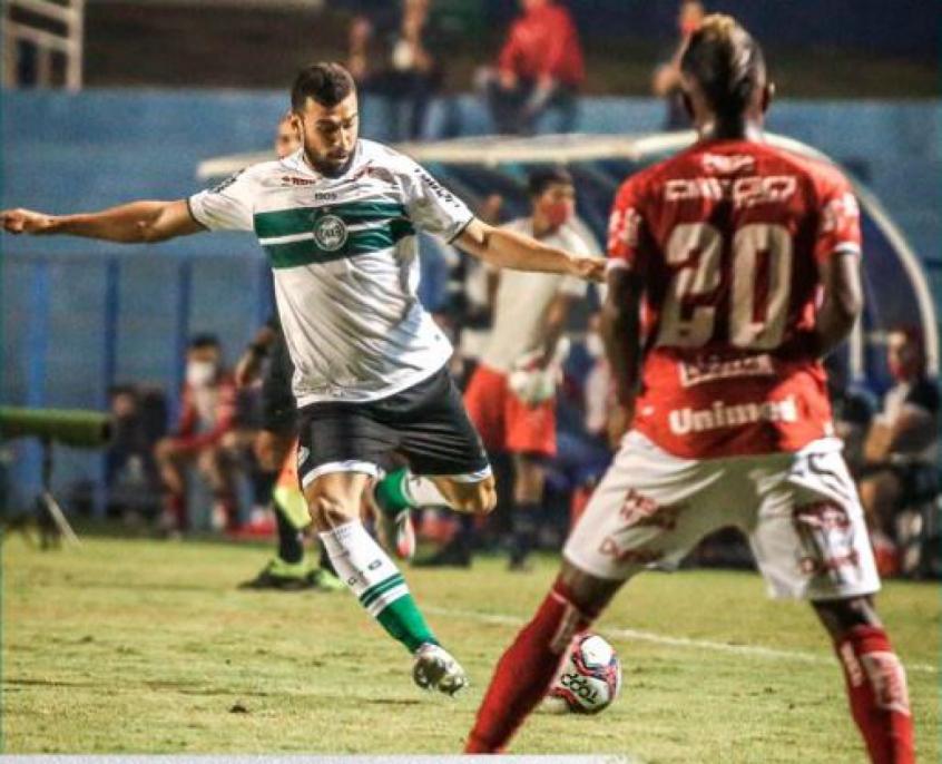 Mesmo sem brilho, Coritiba vence Vila Nova pela Série B