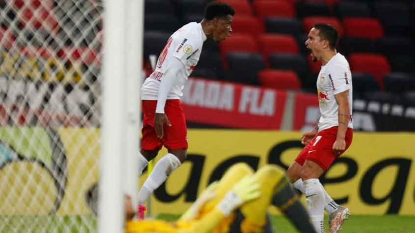 Em jogo eletrizante e de pinturas, Flamengo sofre virada no último lance e vê Bragantino assumir o topo