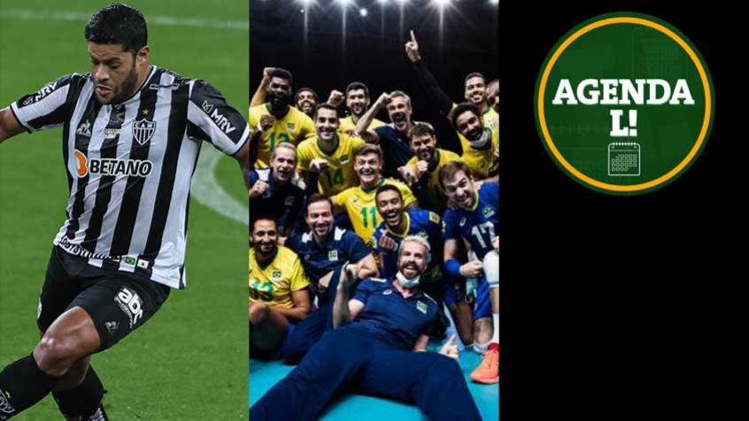 Copa América, Brasileirão, Euro, volêi e NHL… Saiba onde assistir aos eventos esportivos de segunda-feira