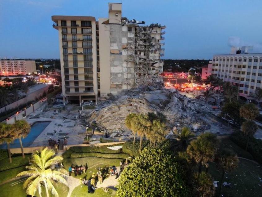 Desabamento em Miami: Jogador da NBA comparece ao local para ajudar no resgate a vítimas