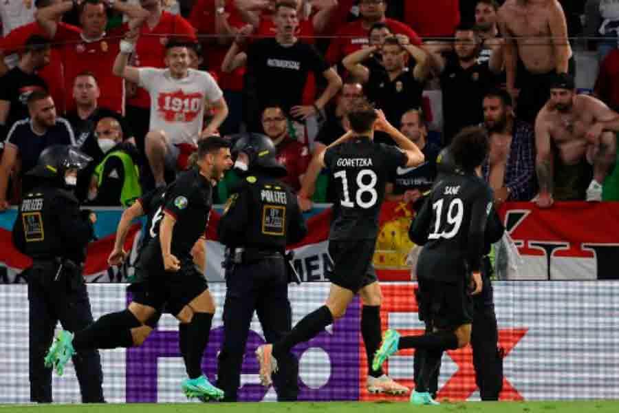 Alemanha empata com a Hungria no fim e classifica-se para as oitavas da Eurocopa