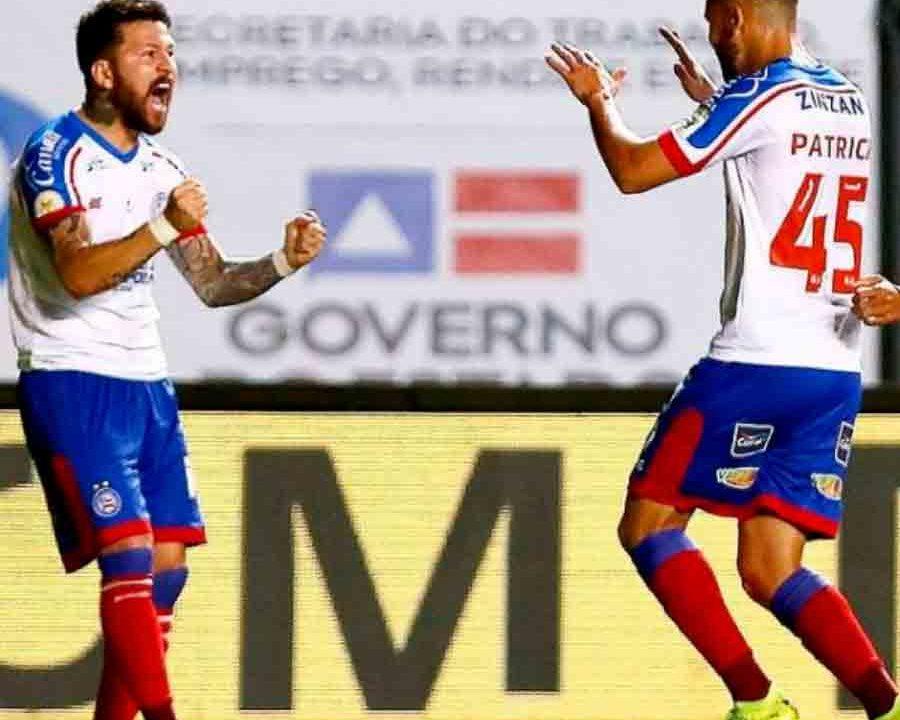 Com dois jogadores a mais, Bahia vence e acaba com invencibilidade do Athletico-PR