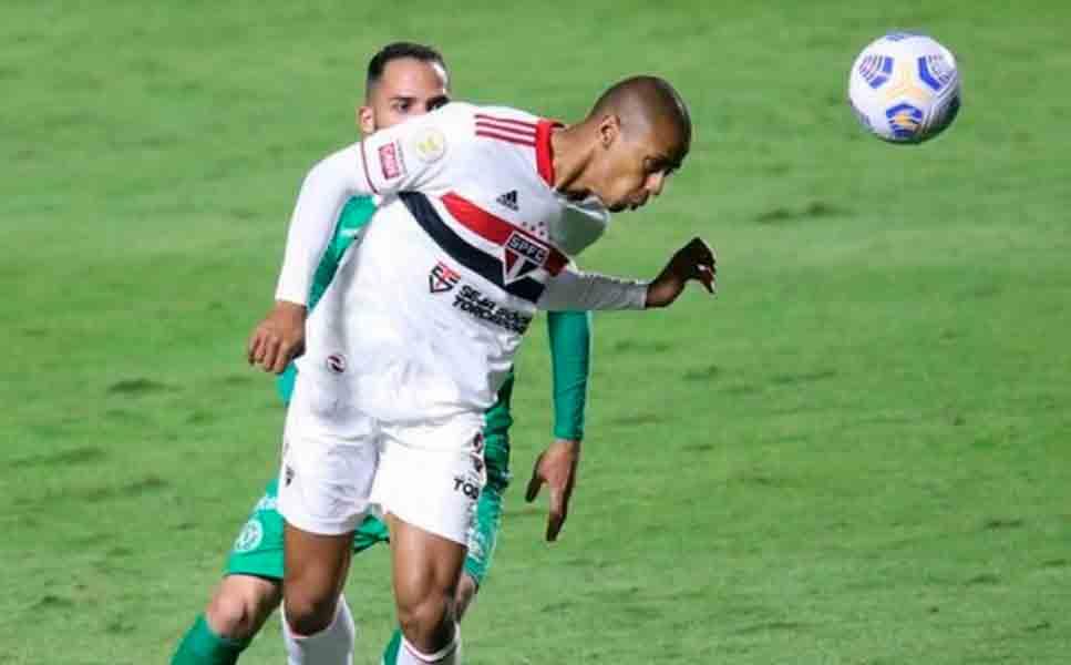 Bruno Alves analisa empate do São Paulo: 'Sentimento de frustração'