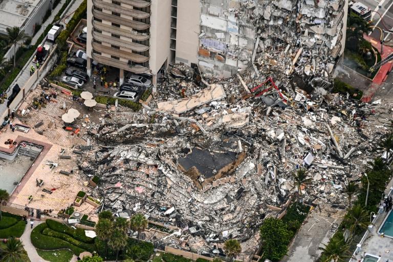 Carta alertou em abril sobre estado crítico do prédio desabado na Flórida
