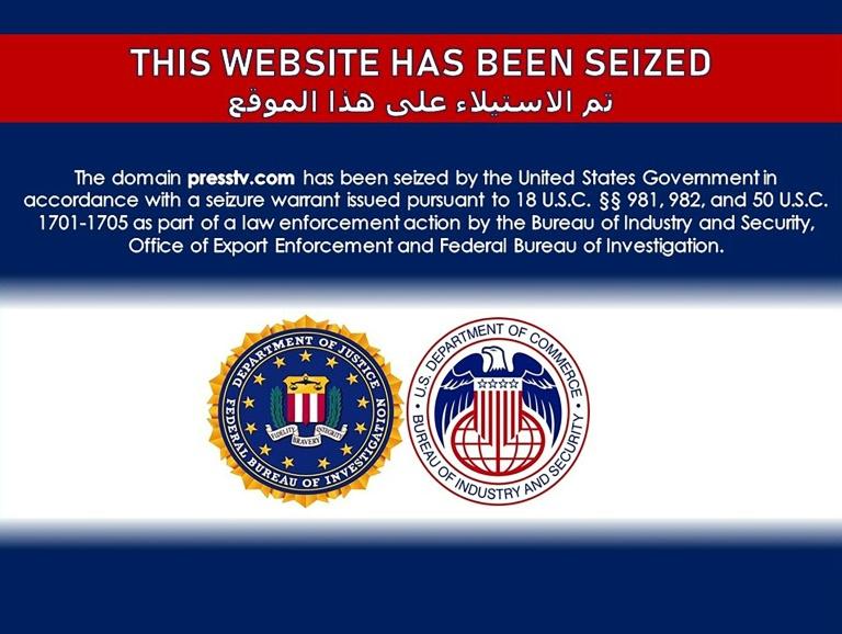 EUA bloqueia vários sites da mídia estatal iraniana