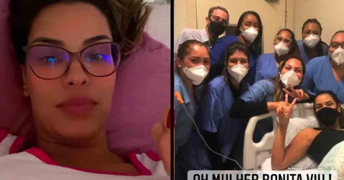 Ex-BBB Ivy passa por cirurgia de emergência