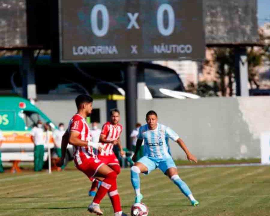 Em duelo morno, Náutico empata com Londrina sem gols