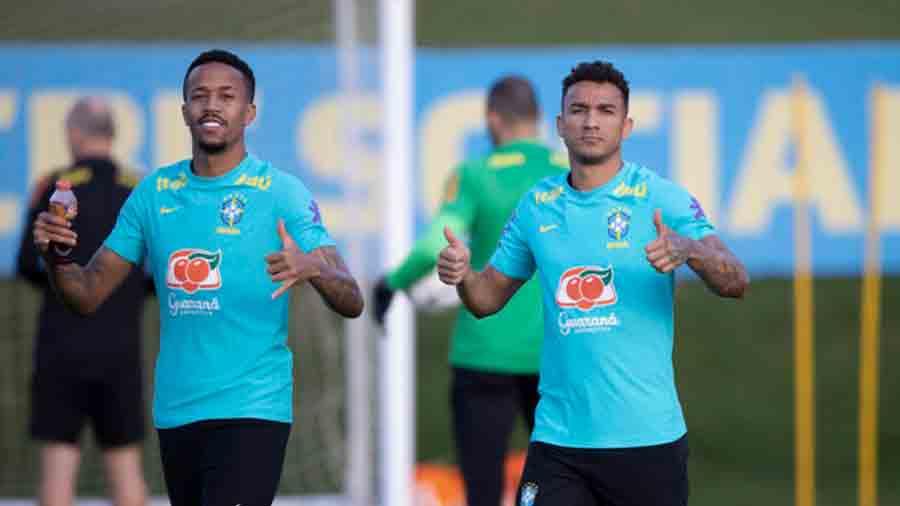 Com descontração e até funk, Seleção Brasileira realiza treino na Granja Comary e faz mistério sobre time