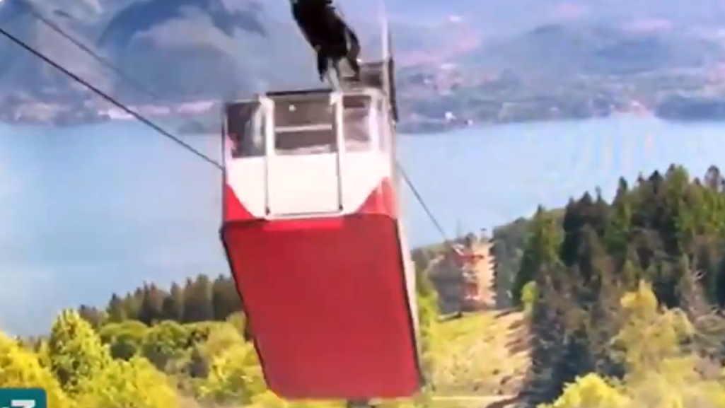 Vídeo mostra acidente com teleférico que matou 14 na Itália