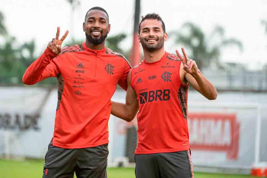 Flamengo confirma retorno de Thiago Maia contra o Fortaleza; veja os relacionados