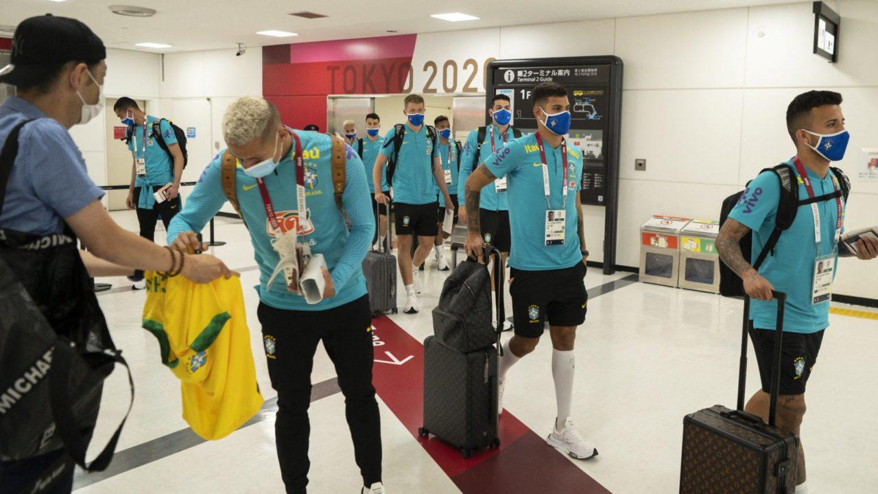Brasil estreia no futebol masculino em Tóquio diante da Alemanha