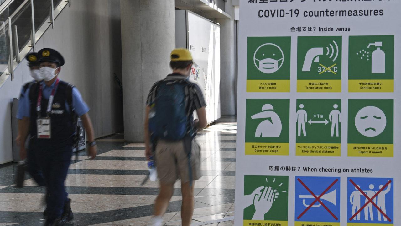 Organização da Olimpíada revela mais dois casos de covid-19 entre atletas