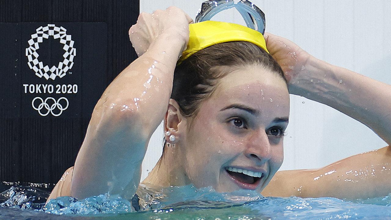 Natação: australiana Kaylee McKeown é ouro nos 100m costas com recorde olímpico