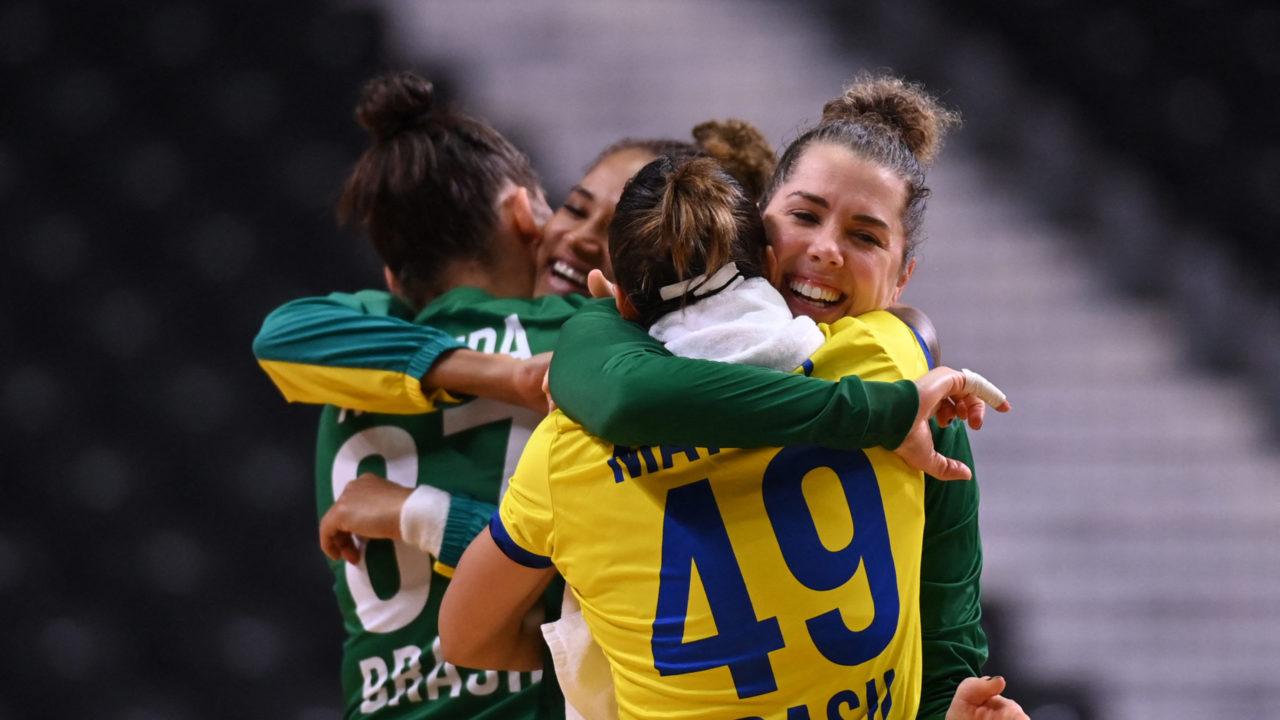 Handebol feminino: Brasil vence e garante primeira vitória  na Olimpíada