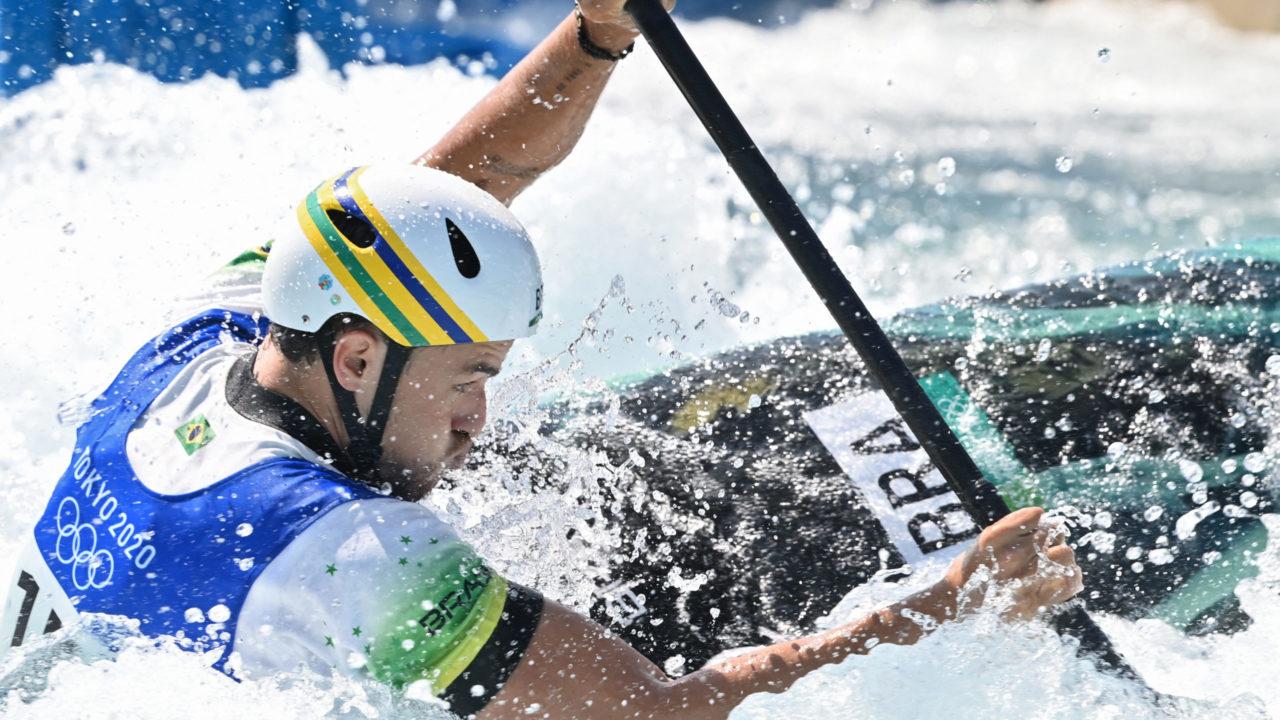 Canoagem Slalom: Pepê Gonçalves não avança para a final na categoria K1