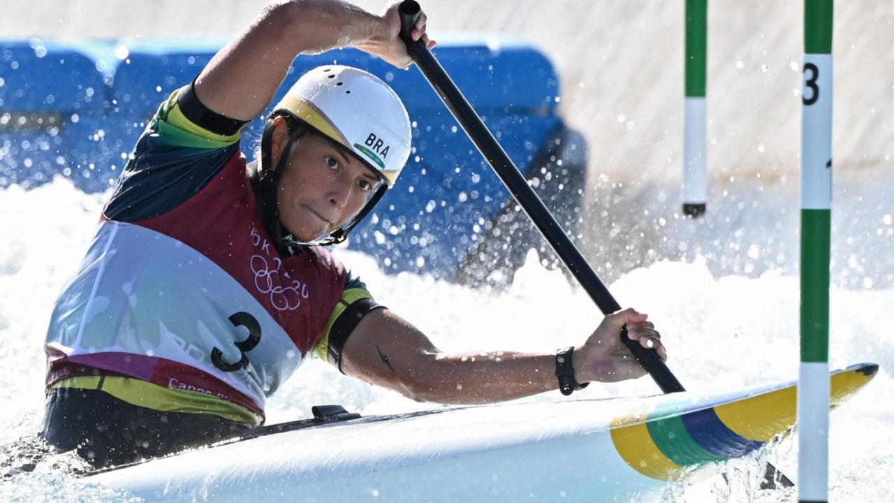 Canoagem slalom: Ana Sátila garante vaga na final da categoria C1 na Olimpíada de Tóquio