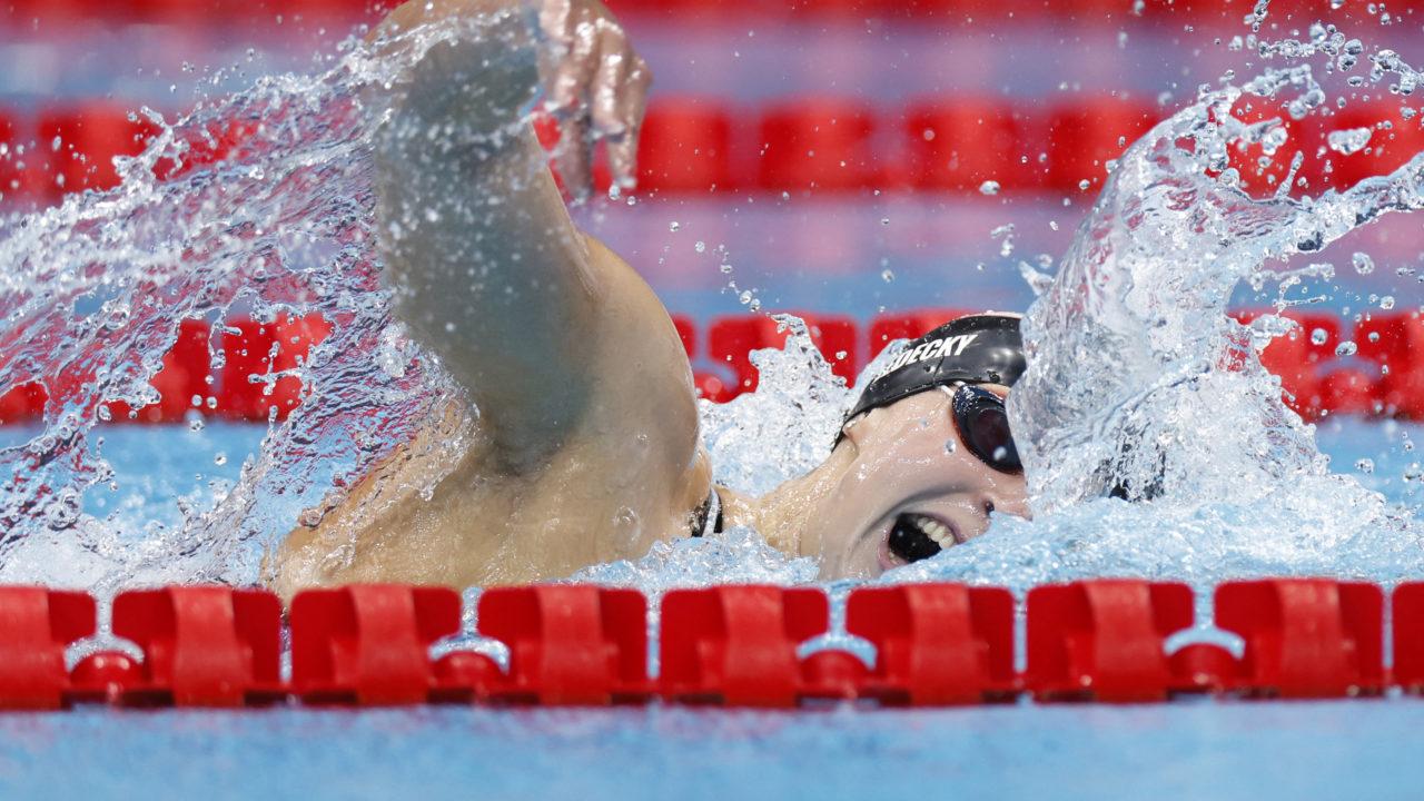 Natação: americana Katie Ledecky é ouro nos 800m livre