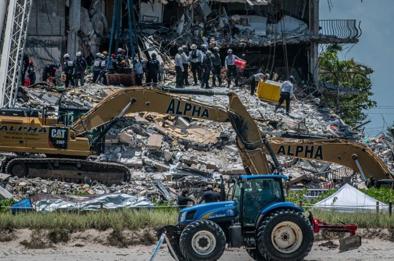 Número de mortos por desabamento de edifício na Flórida sobe para 78