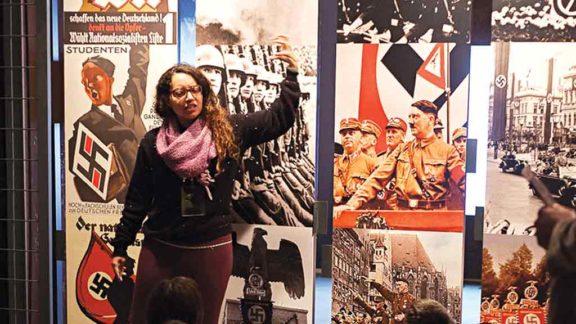 Entidades judaicas protestam contra o presidente. Ele recebeu deputada alemã defensora de ideais neonazistas
