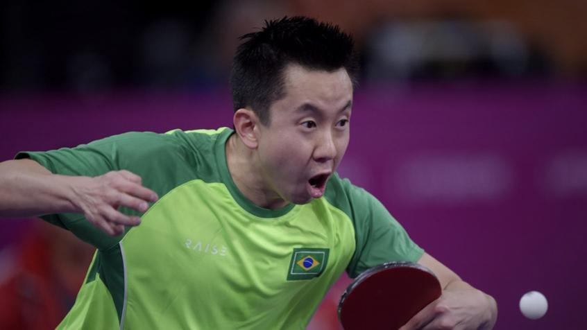 Gustavo Tsuboi vence mais uma e está nas oitavas de final do tênis de mesa nos Jogos Olímpicos