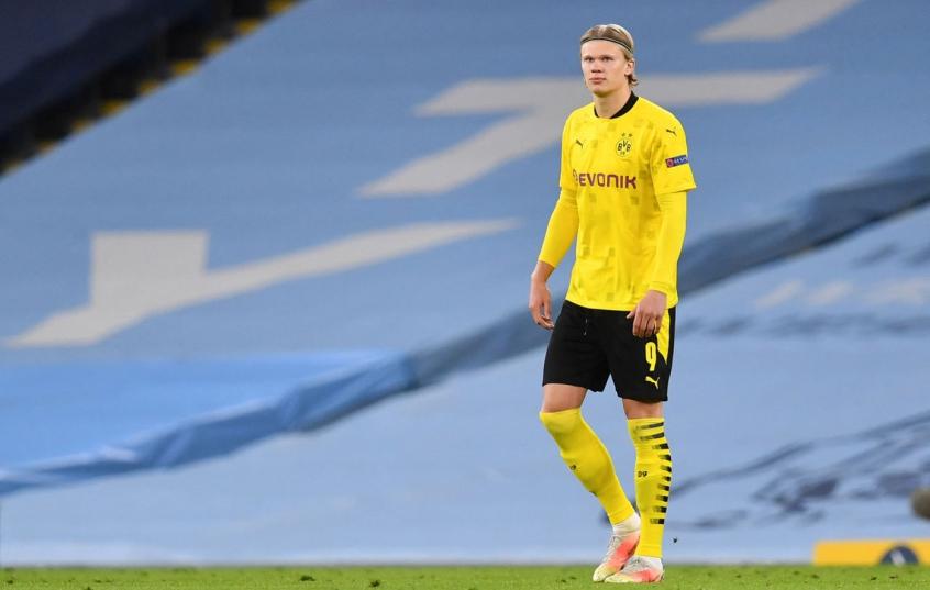 Haaland sobre saída do Dortmund: 'Espero que seja apenas rumor'