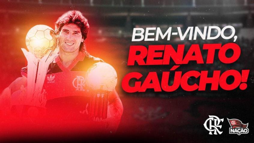 Flamengo anuncia contratação do técnico Renato Gaúcho