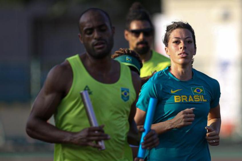 Atletismo brasileiro chega ao Japão e já treina para os Jogos Olímpicos