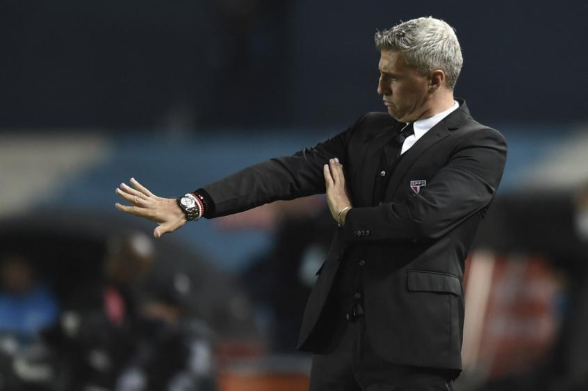 Crespo elogia Marquinhos e exalta Cotia após vitória do São Paulo: 'Os jovens são o futuro'