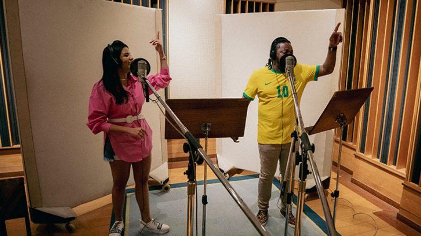 No embalo! Ao L!, cantora fala sobre dueto com Xande de Pilares em tema oficial da Seleção olímpica masculina