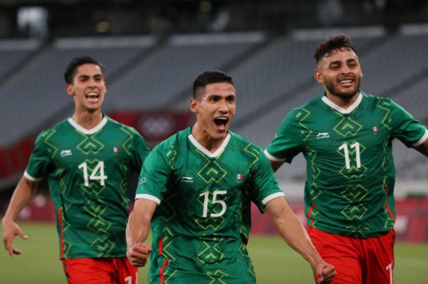 México encanta e vence França na estreia do futebol masculino nas Olimpíadas