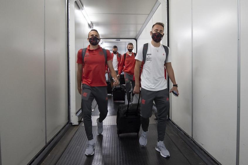 Flamengo desembarca após classificação na Liberta: Jogo que dá confiança