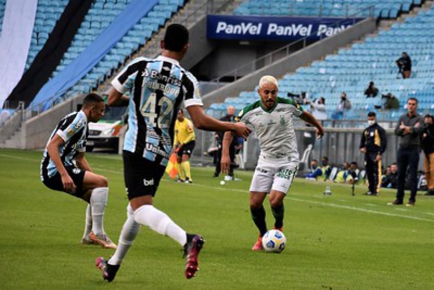 Grêmio e América-MG ficam no empate no duelo de 'atolados' no Z4 do Campeonato Brasileiro