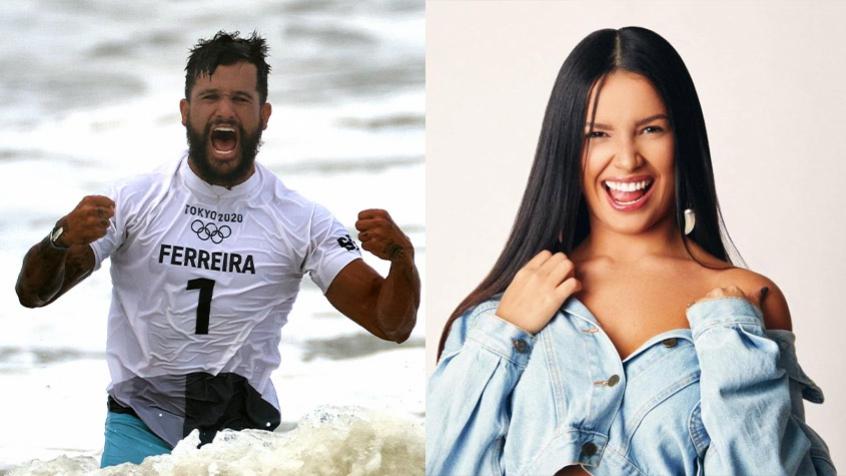 Novo casal? Medalhista de ouro, Ítalo Ferreira flerta com ex-BBB Juliette: 'Não namoro'