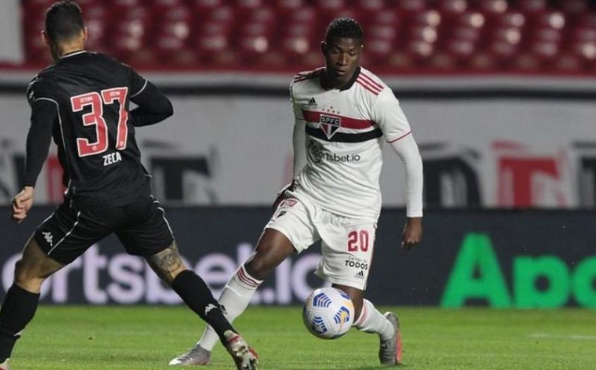 Orejuela volta a receber oportunidade no São Paulo após um mês sem jogar