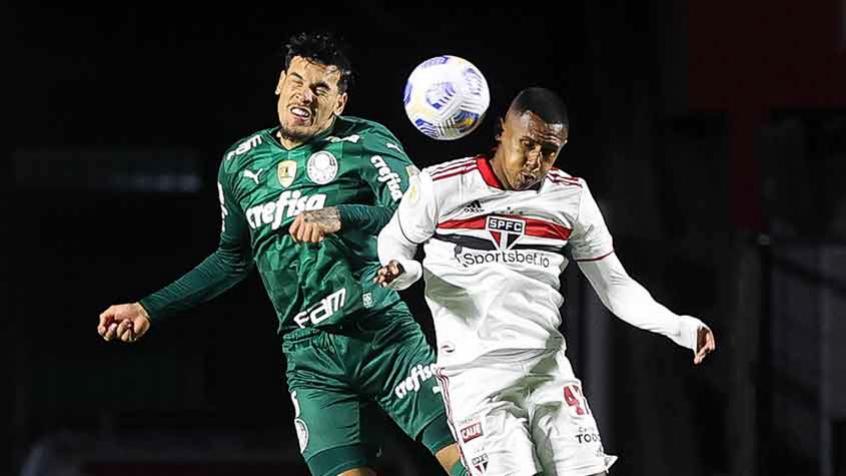 São Paulo e Palmeiras empatam sem gols em partida marcada por polêmicas de arbitragem