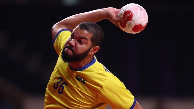 Brasil perde para Noruega de virada no handebol masculino