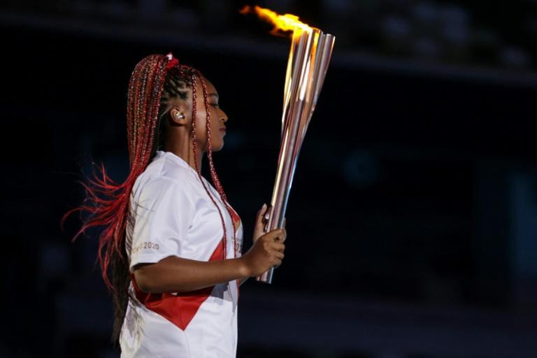 Naomi Osaka, no centro das atenções olímpicas e contra o racismo