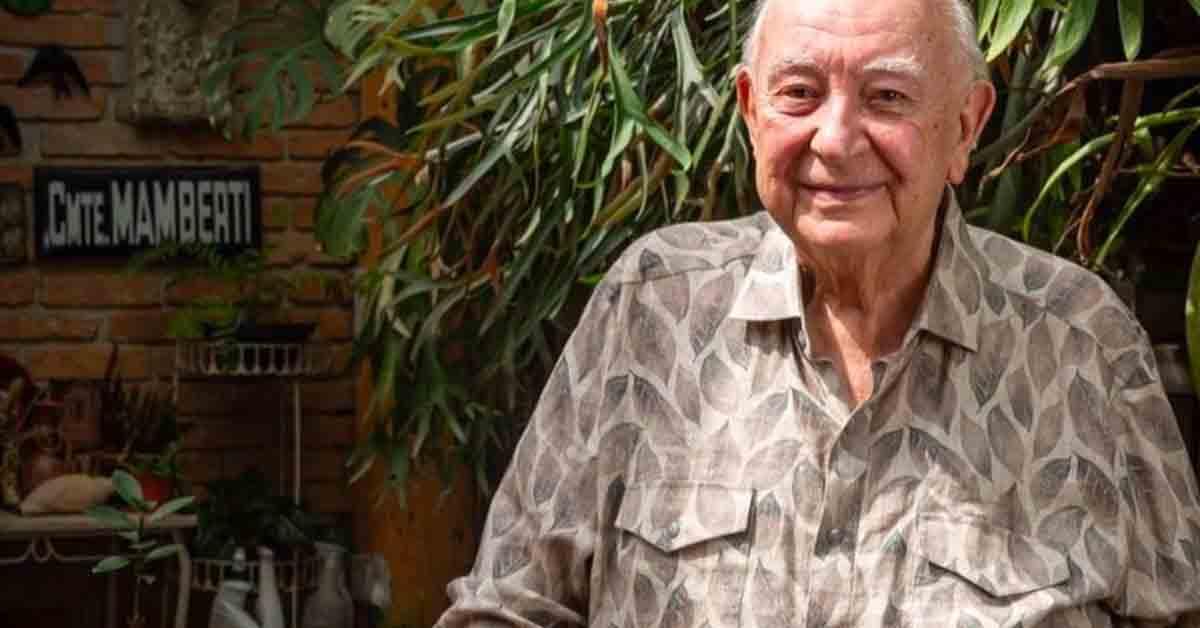Sérgio Mamberti é intubado com infecção nos pulmões