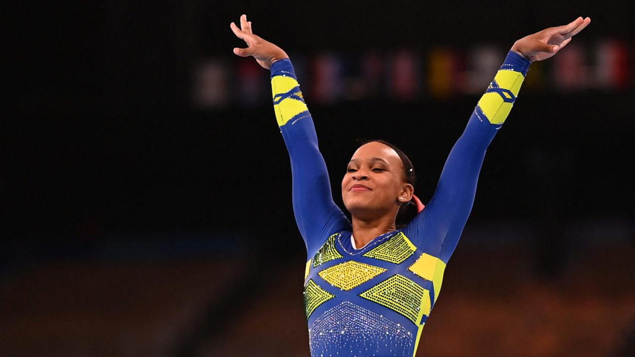 Ginástica: Rebeca Andrade termina em 5° e fica sem medalha no solo