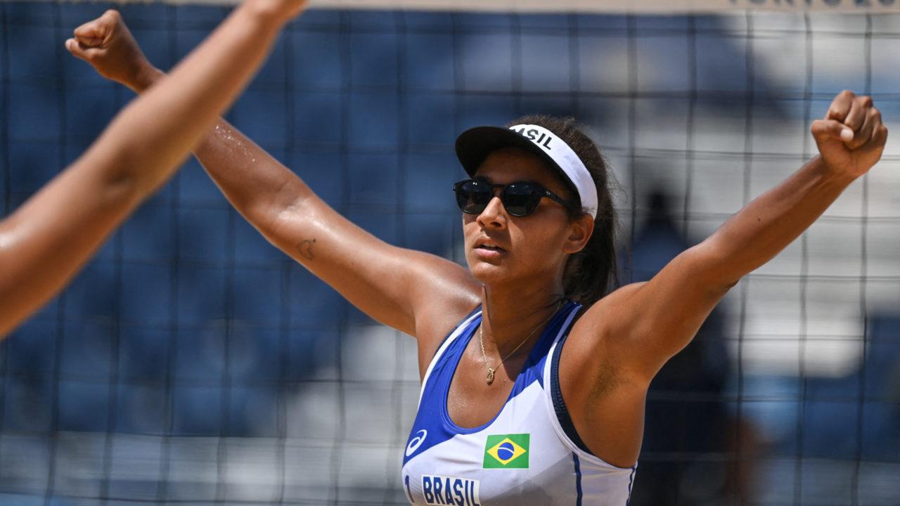 Vôlei de praia: Ana Patrícia passou mal na zona de entrevista após a eliminação nos Jogos Olímpicos