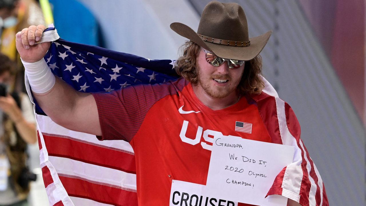 Atletismo: americano é bicampeão e brasileiro fica em quarto no lançamento de peso