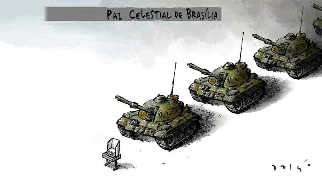 A humilhação pelos tanques